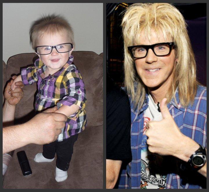 Garth Look Alike My Daughter Waynes World Photo