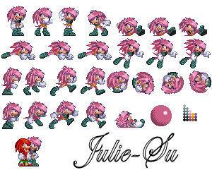 Genesis Julie-Su Sprites