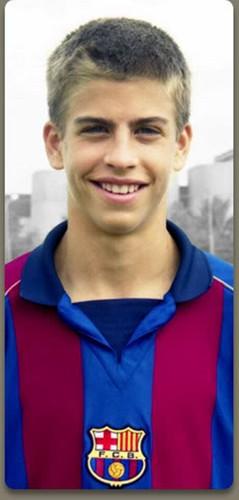 Gerard Piqué young