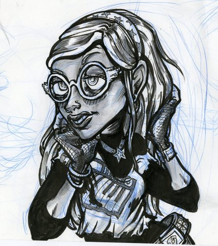 Ghoulia Fan art WIP