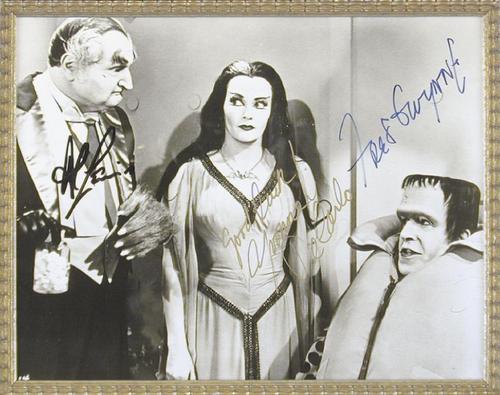 Grandpa, Lily & Herman (autographed)