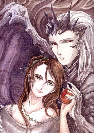 Hades and Persephone Hades and PersephoneHades Abducting Persephone