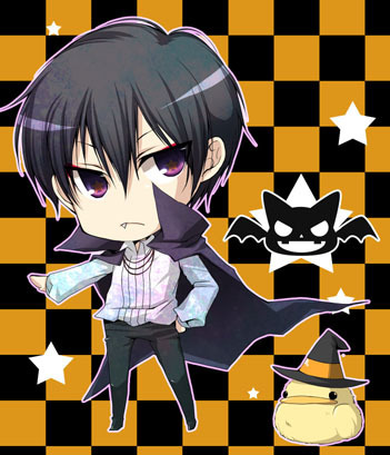 Hibari Kyoya wallpaper probably containing anime called Halloween Hibari