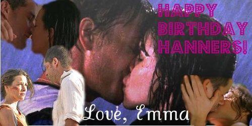 Happy Birthday Hanners!