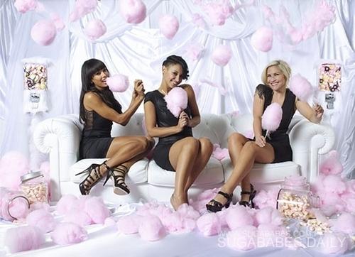 Heidi, Jade, & Amelle - 'Love Music Love Food' - sugababes Photo