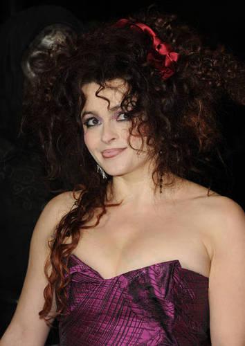 Helena Bonham Carter at the Deathly Hallows Luân Đôn Premier 2010
