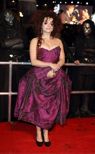 Helena Bonham Carter at the Deathly Hallows Лондон Premier 2010
