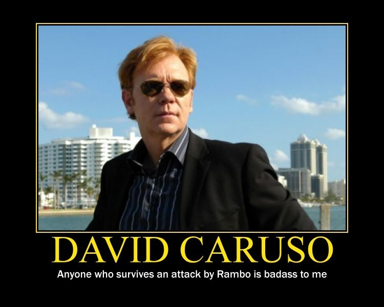 david caruso yeah - photo #1