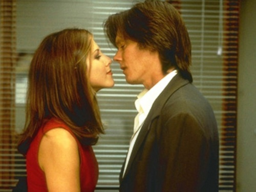 Jennifer Aniston and Kevin spek kiss