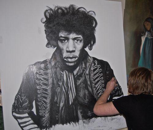 Jimi Hendrix Illustration