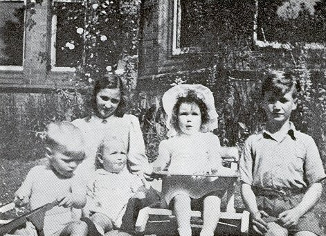 John as a child