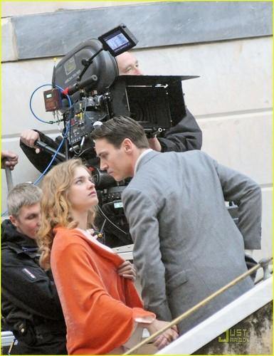 Jonathan Rhys Meyers: 'Belle' Kiss with Natalia Vodianova