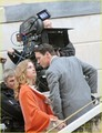 Jonathan Rhys Meyers: 'Belle' Kiss with Natalia Vodianova - jonathan-rhys-meyers photo