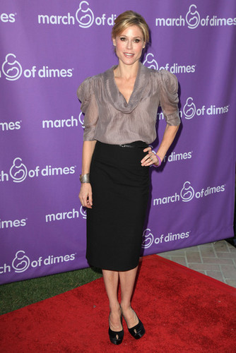 Julie @ the 5th Annual March Of Dimes Celebration Of 아기 Luncheon