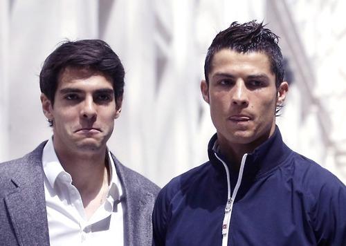 Kaka and C.Ronaldo.