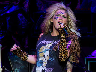 Ke$ha in کنسرٹ