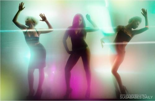 Keisha, Heidi, & Amelle - 'Get Sexy' Shoot