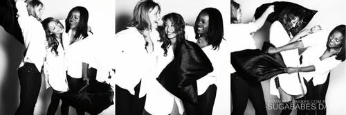 Keisha, Heidi, & Amelle