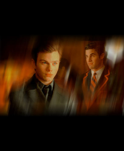 Kurt and Blaine wallpaper probably with a business suit entitled Kurt&Blaine