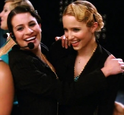 dianna agron and lea michele. DIANNA AGRON AND LEA MICHELE