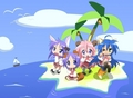 Lucky Star Animals Stuck On The Island