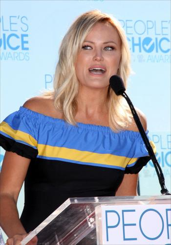 Malin @ People's Choice Awards 2011 Press Conference
