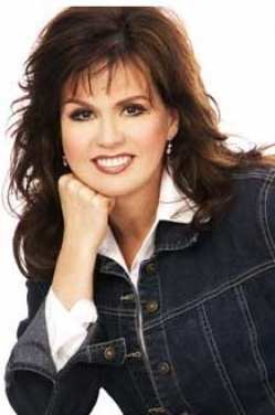 Marie Osmond Hintergrund with a portrait titled Marie Osmond