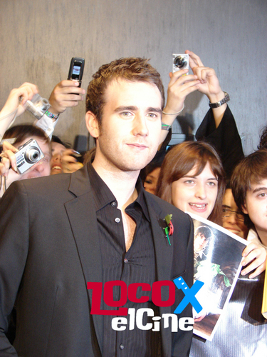 Matthew Lewis attends Argentina Deathly Hallows - harry-potter Photo