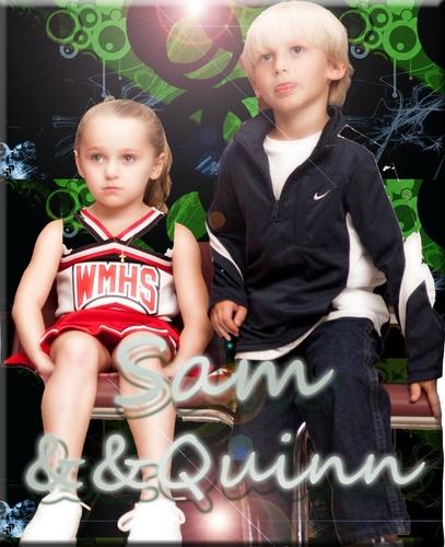 Mini Sam and Quinn
