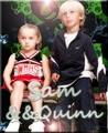 Mini Sam and Quinn