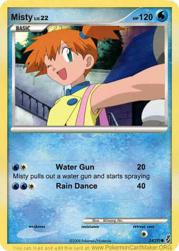 Misty Card