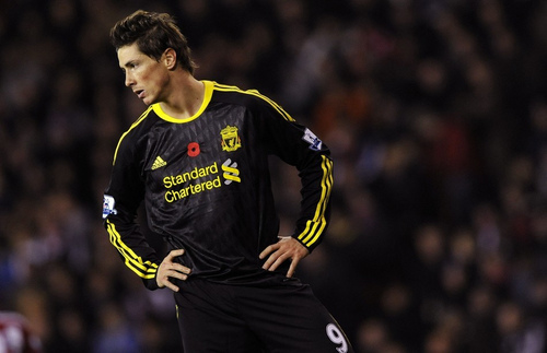 Fernando Torres দেওয়ালপত্র called Nando - Liverpool(0) vs Stoke City(2)