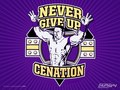 Never Give Up - john-cena wallpaper