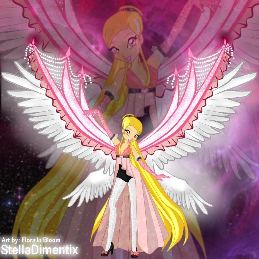 Картинки с ангелами винкс и обычными ангелками!