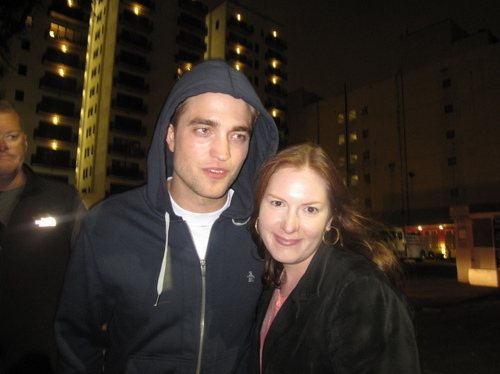 New/old fan Encounter with Robert Pattinson on the set of WFE
