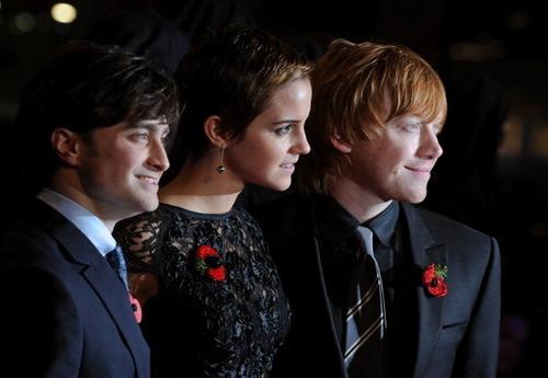 Harry Potter wallpaper with a business suit, a suit, and a dress suit called Nov11: London premiere