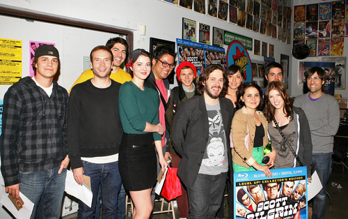 November 11: Scott Pilgrim Vs. The World Blu-ray Signing