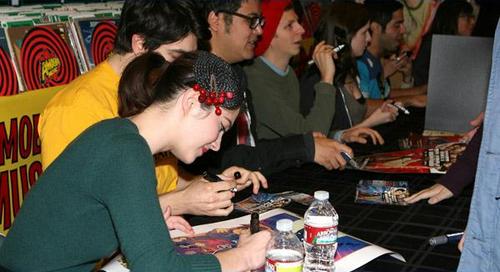 November 11: Scott Pilgrim Vs. The World Blu-ray Signing