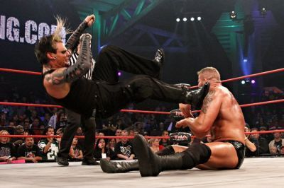 Jeff Hardy wallpaper called Jeff Hardy & Matt Morgan