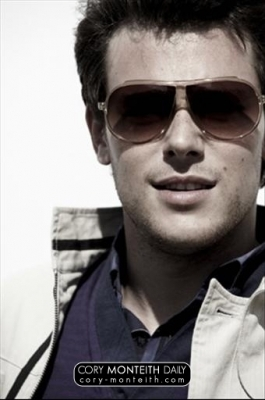 Cory Monteith wallpaper containing sunglasses entitled Outtakes of Cory's photo shoot for his Fall / Winter 2009 campaign for Five Four