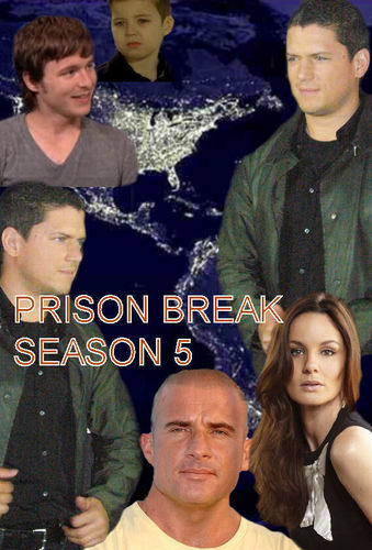 Prison Break Cast karatasi la kupamba ukuta called Prison Break - season 5