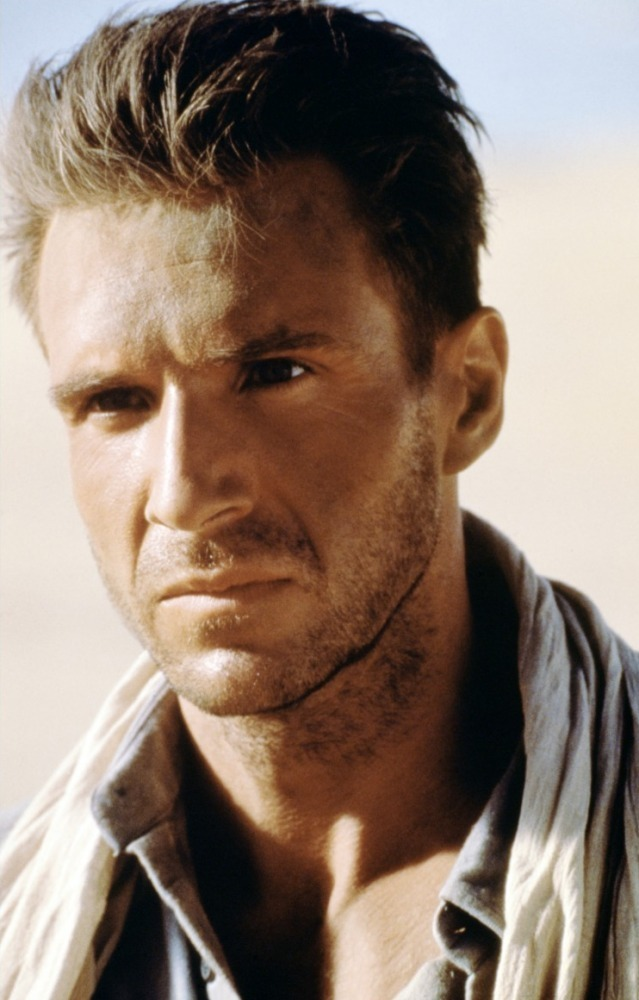 Ralph Fiennes is being...