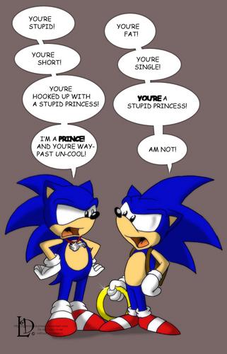 SU Sonic vs. SatAM Sonic
