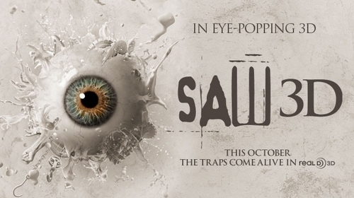 Saw 3D Banner