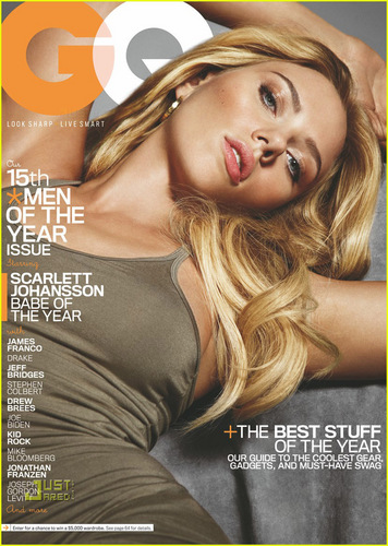 Scarlett Johansson Covers 'GQ' December 2010