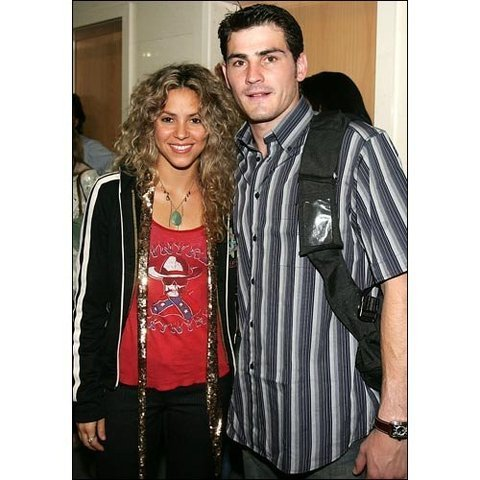 Shakira & Iker Casillas - shakira Photo