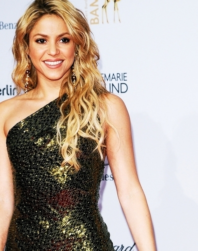 Shakira at the 62nd Bambi Awards 2010 (red carpet)