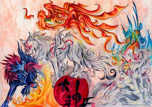 Shiranui, Amaterasu & Oki