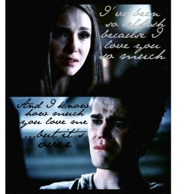 Stefan & Elena fondo de pantalla titled Stelena Break Up 2x06