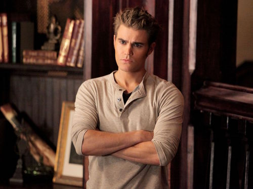 Stefan Salvatore wallpaper probably containing a reading room, a bookshop, and a sign called TVD_2x10_The Sacrifice_Episode stills